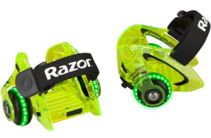RAZOR wrotki Jetts DLX wheels - zielone LED
