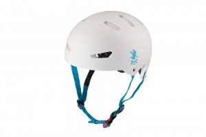 "KASK KRK protection ""NoPeace"" - White/Blue L/XL"